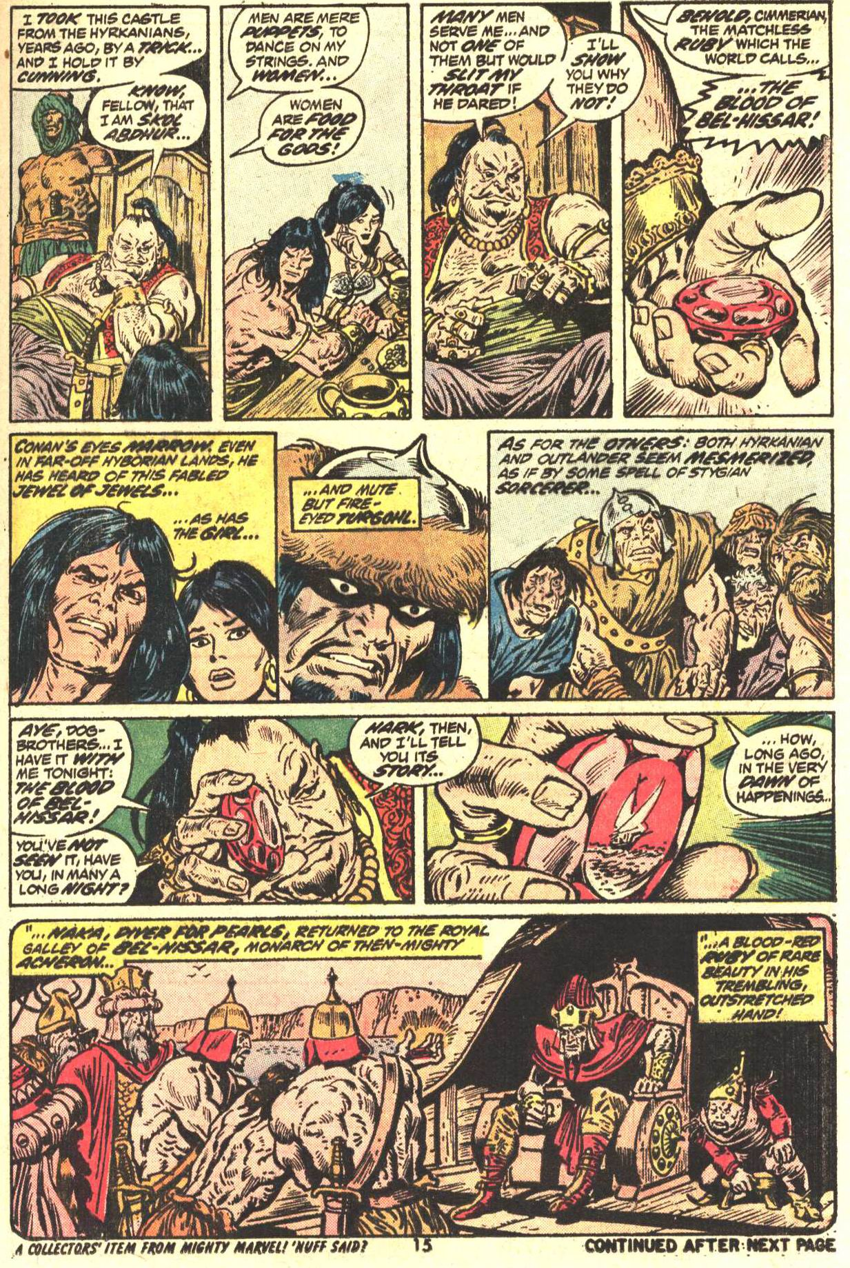 Conan the Barbarian (1970) Issue #27 #39 - English 12