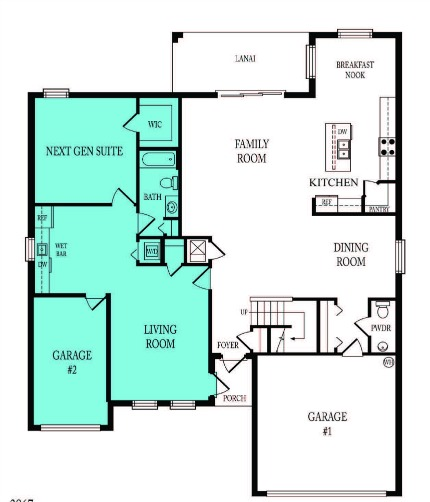 New construction in estero florida for Mother in law suite plans