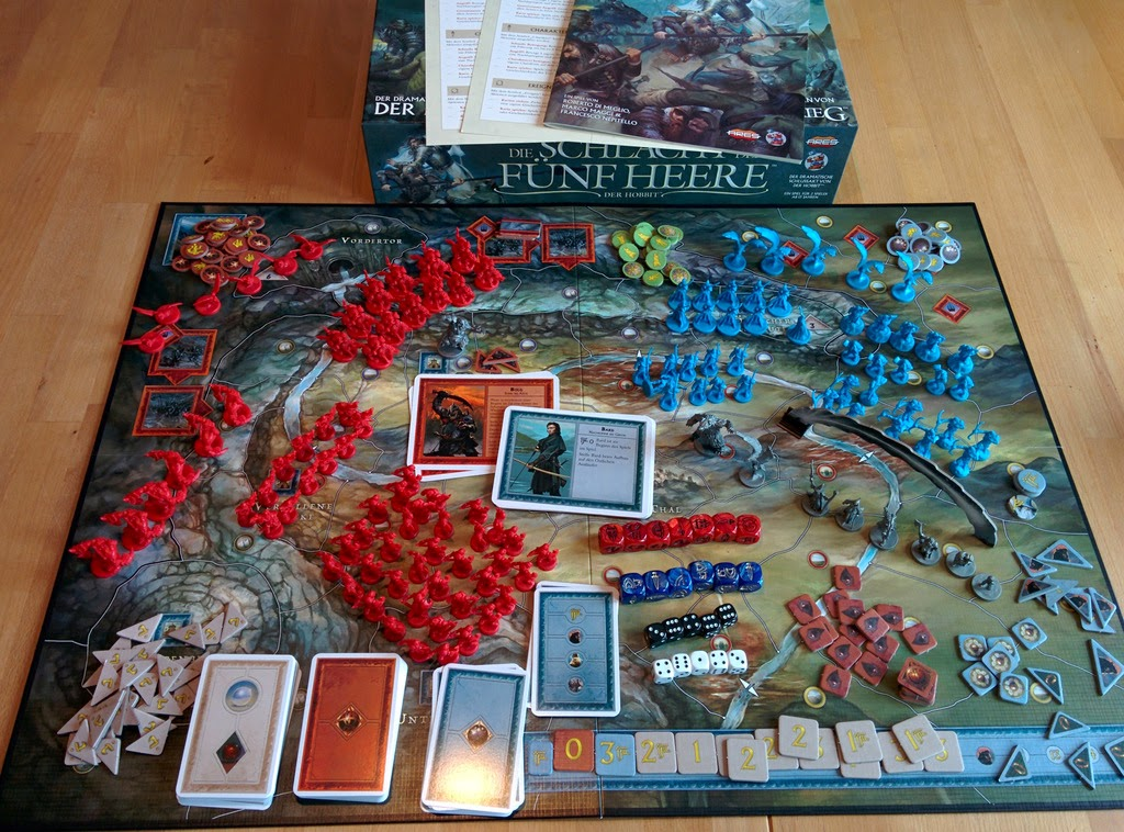 War Of The Ring Second Edition Board Size
