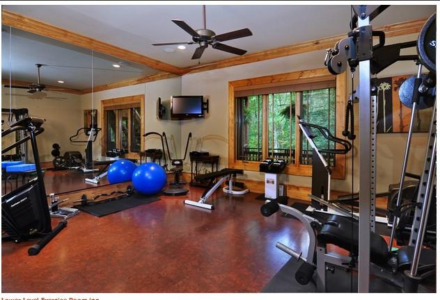 Exercise Room Flooring : De jong dream house cork flooring
