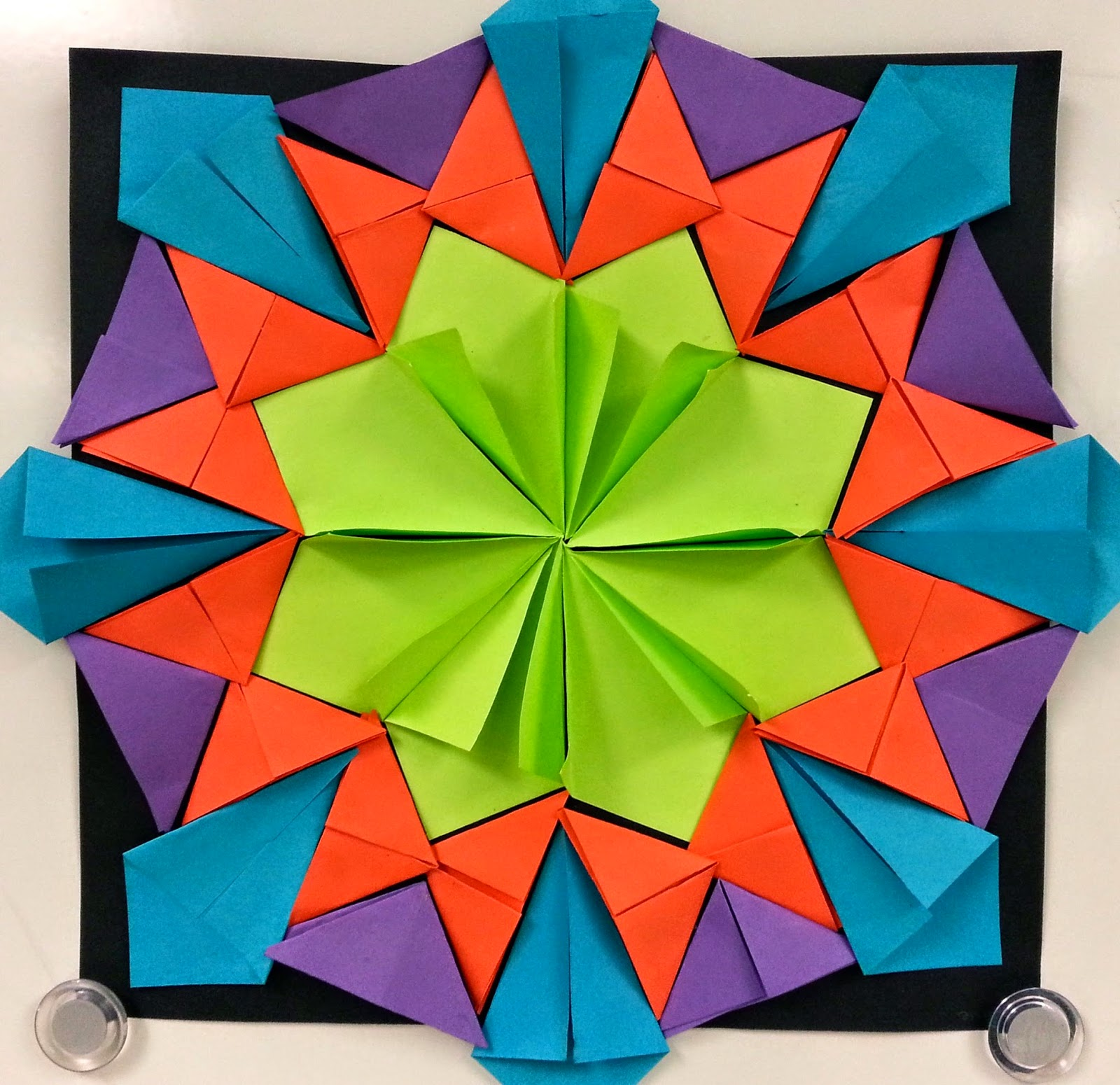 Radial Design Art : More radial paper relief sculptures th art with mrs
