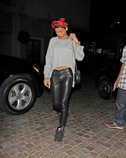 Rihanna out for dinner in Beverly Hills