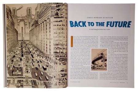 Classic magazine layout