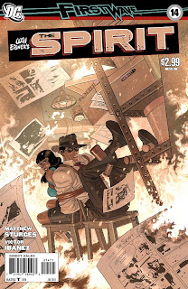 Cover of The Spirit #14 from DC Comics