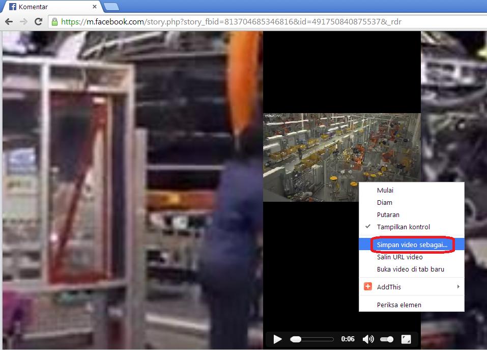 cara download video dari facebook mudah