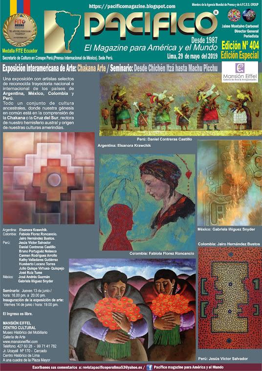 Revista Pacifico N° 404 Edición Especial Lima Perú