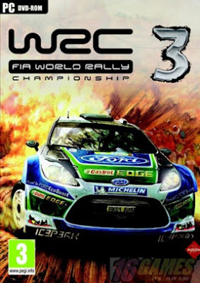 Free Download WRC 3: Fia World Rally Championship PC Game Full Version Cover