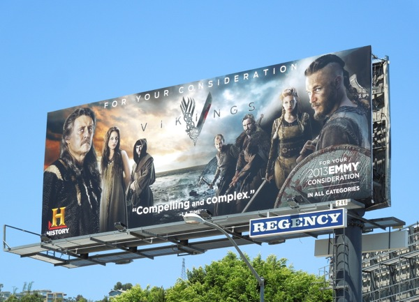 Vikings Emmy 2013 billboard