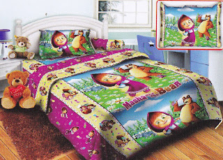 Sprei Belize Masha And The Bear