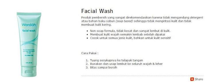 Facial Wash -$6