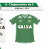 Chapecoense 2014 - Umbro