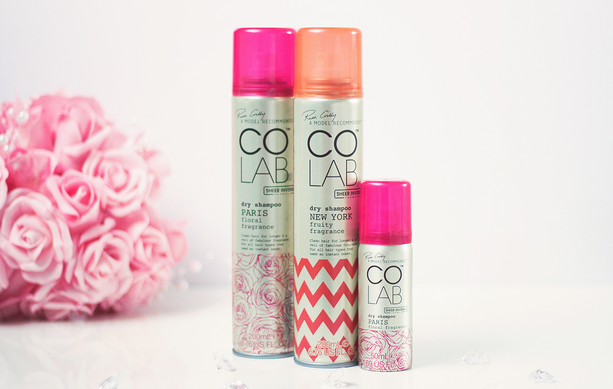 Colab Dry Shampoo review,  Ruth Crilly colab dry shampoo,  A Model Recommends dry shampoo,  colab dry shampoo review blog,