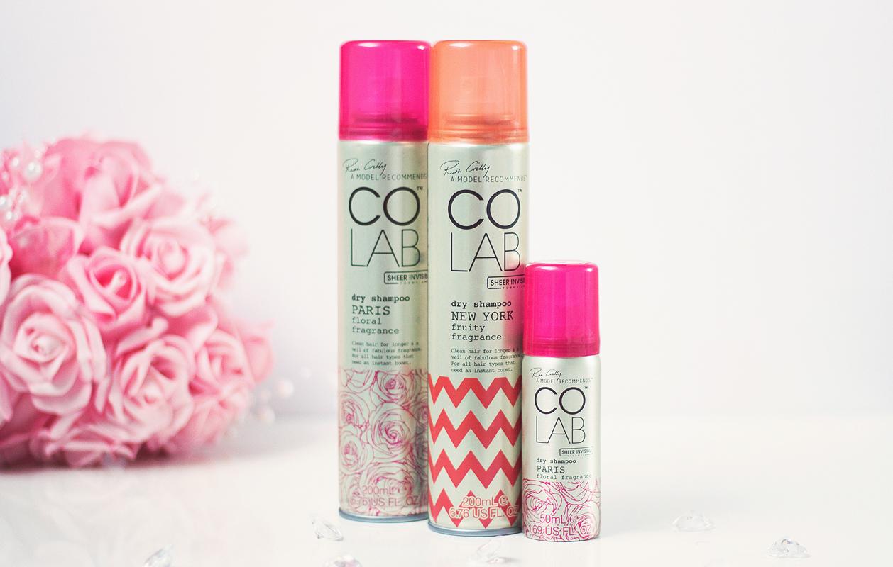 Colab Dry Shampoo review,  Ruth Crilly colab dry shampoo,  A Model Recommends dry shampoo,  colab dry shampoo review blog,