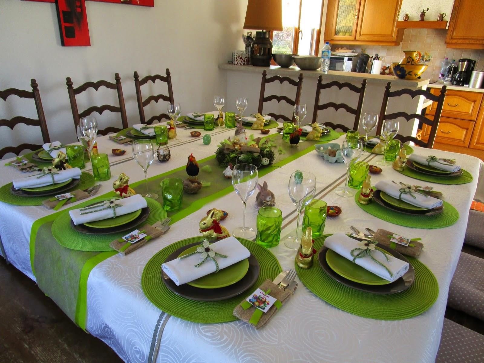 decoration table pour paques fashion designs. Black Bedroom Furniture Sets. Home Design Ideas