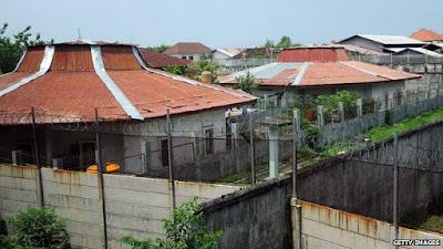 Kerobokan Prison on Bali Island, Indonesia