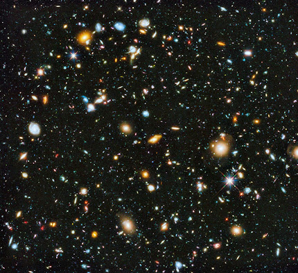 LOOKING AT EVOLUTION OF THE UNIVERSE