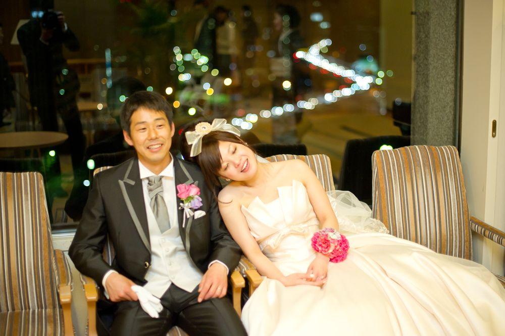 結婚式写真:KKRホテル東京. 昨年5月に撮影しました。