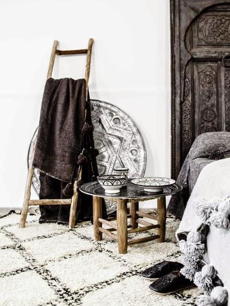 Marokańskie dywany boucherouite