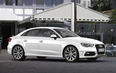 Audi A3 Sedan 2013 : Un nouveau shop