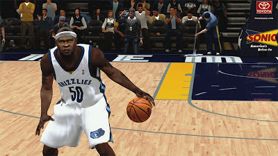 NBA 2K13 Zach Randolph Playoffs Update