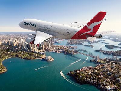 Austrália: Primeiro voo da Qantas saiu de Sidney às 04:41 com destino a Jacarta