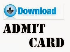 JEE Main 2014 Admit Card