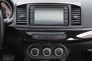 """climate control"" Mitsubishi Lancer interior"
