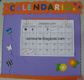 Cartaz calendrio simples- no acompanha a folhinha