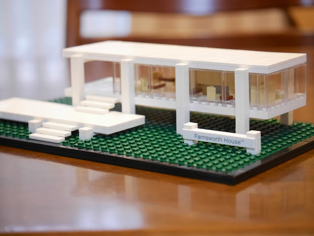 ファンズワース邸 Farnsworth House Lego Architecture