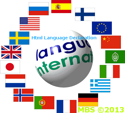 Declare Language In Html