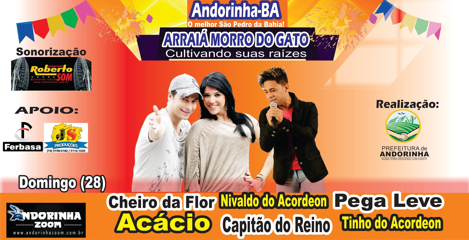 2º DIA DO SÃO PEDRO DE ANDORINHA