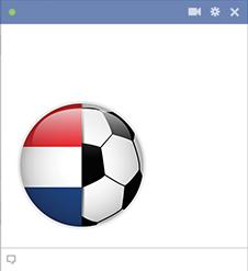 Netherlands football emoticon