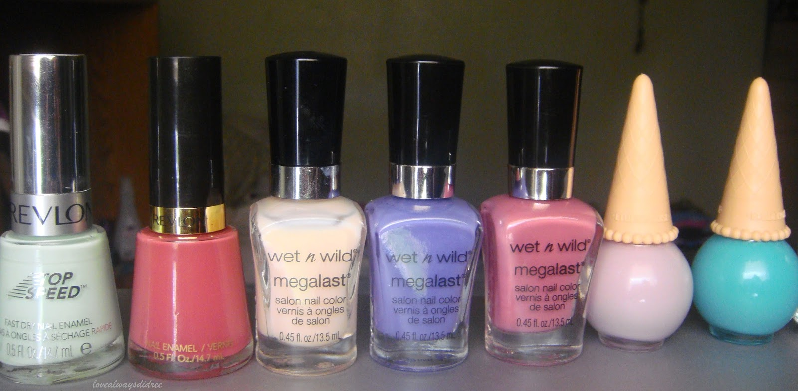 Micro Reviews Everyday Nail Polish Haul Wet N Wild Megalast
