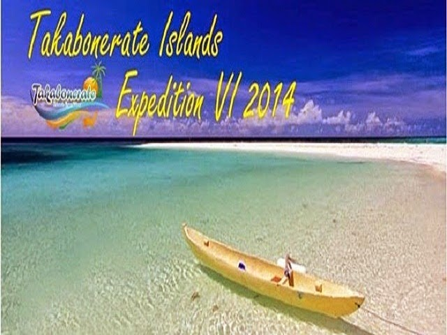 TAKABONERATE ISLANDS EXPEDITION VI 2014