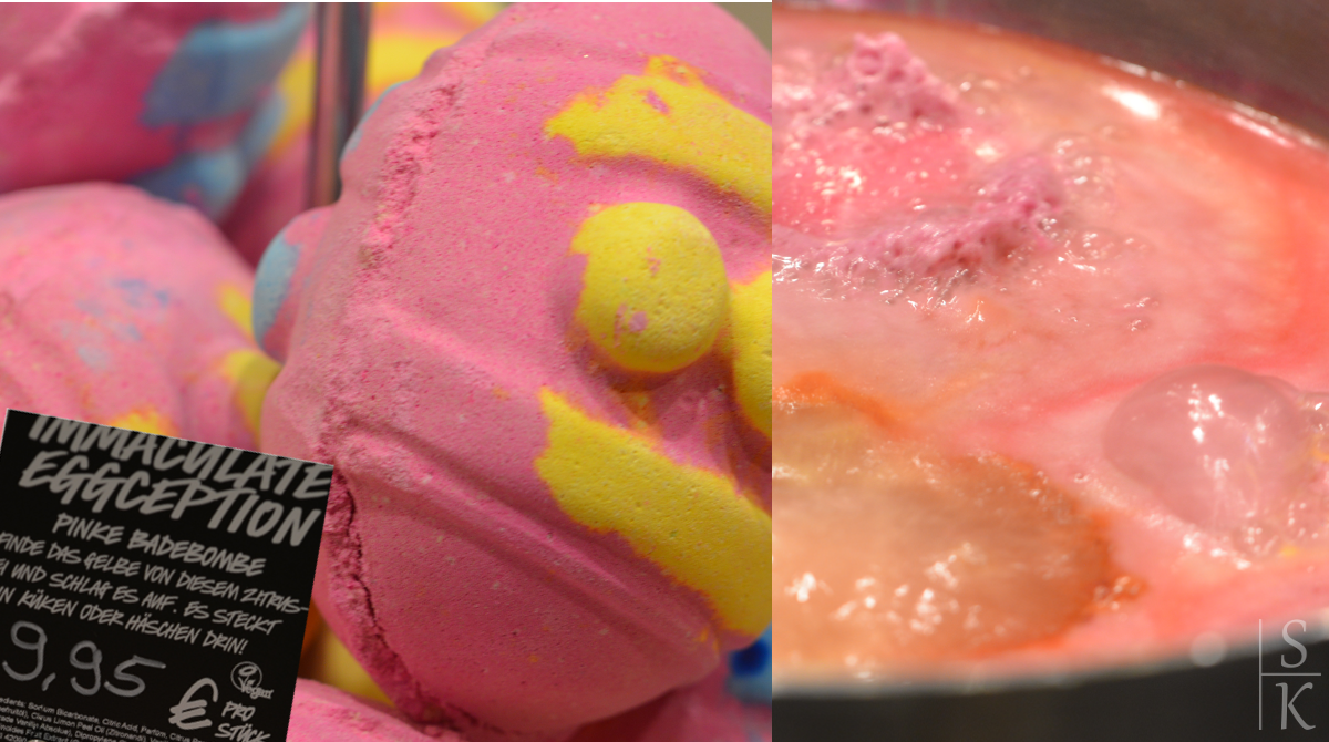 Lush - Immaculate Eggception Pink (Badebombe)