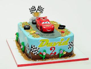 "Tort ""Lightning McQueen "" pentru David"