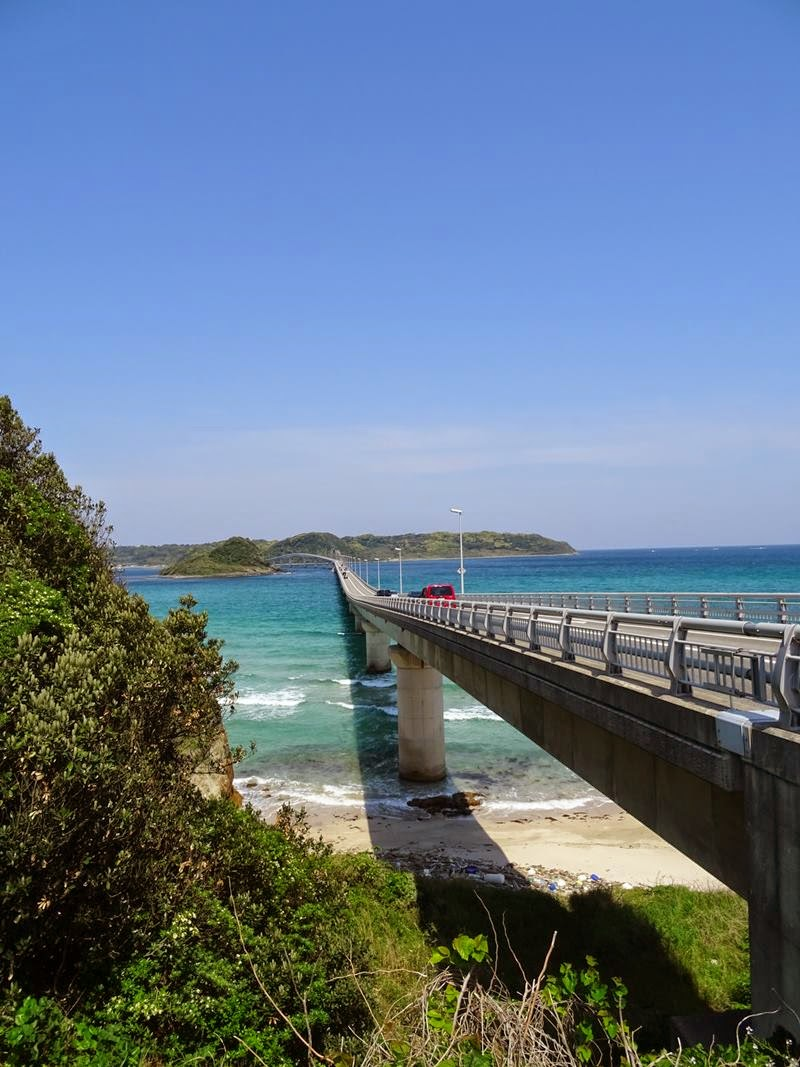 Tsunoshima Bridge | Japan's longest toll-free Bridge