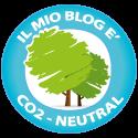 Anche il mio blog è ad impatto zero