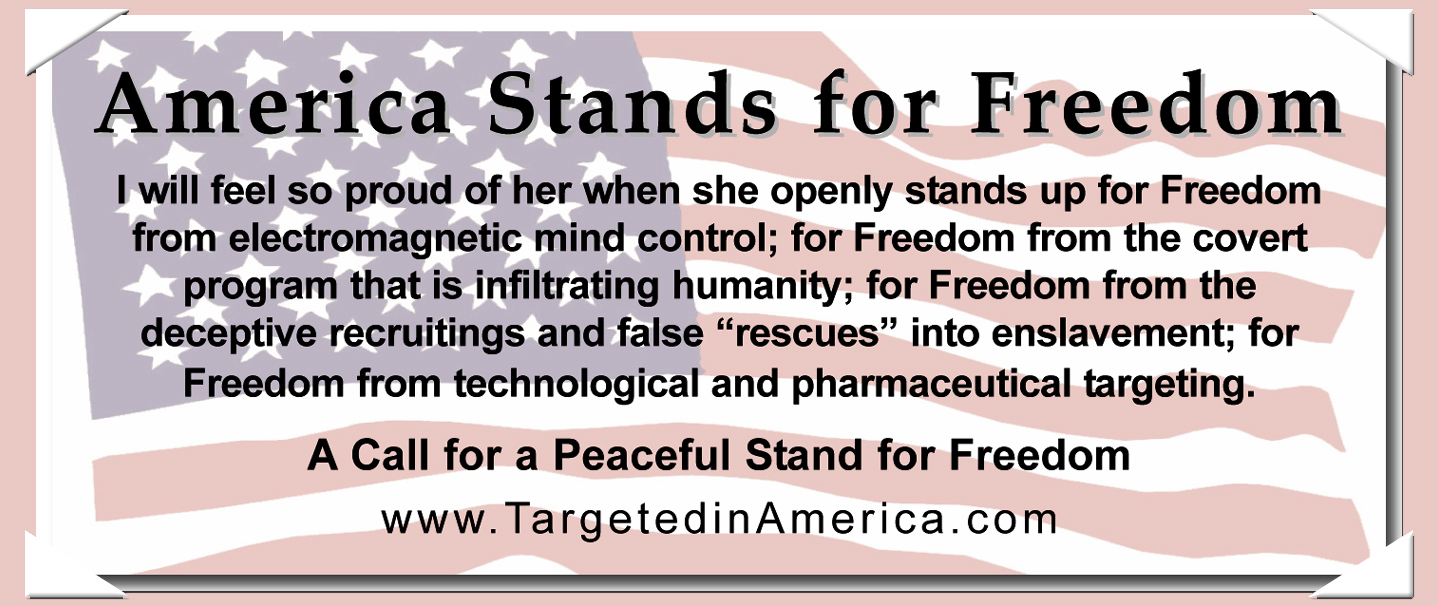 America Stands for Freedom