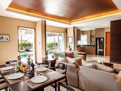 living room in Jiomtien Pattaya