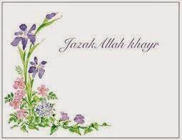 Arti Jazakallah Khair