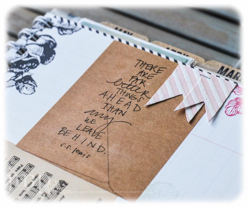 jamie pate ~ heidi swapp memory planner album
