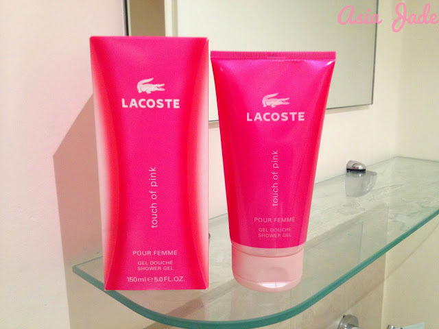Lacoste shower gel review