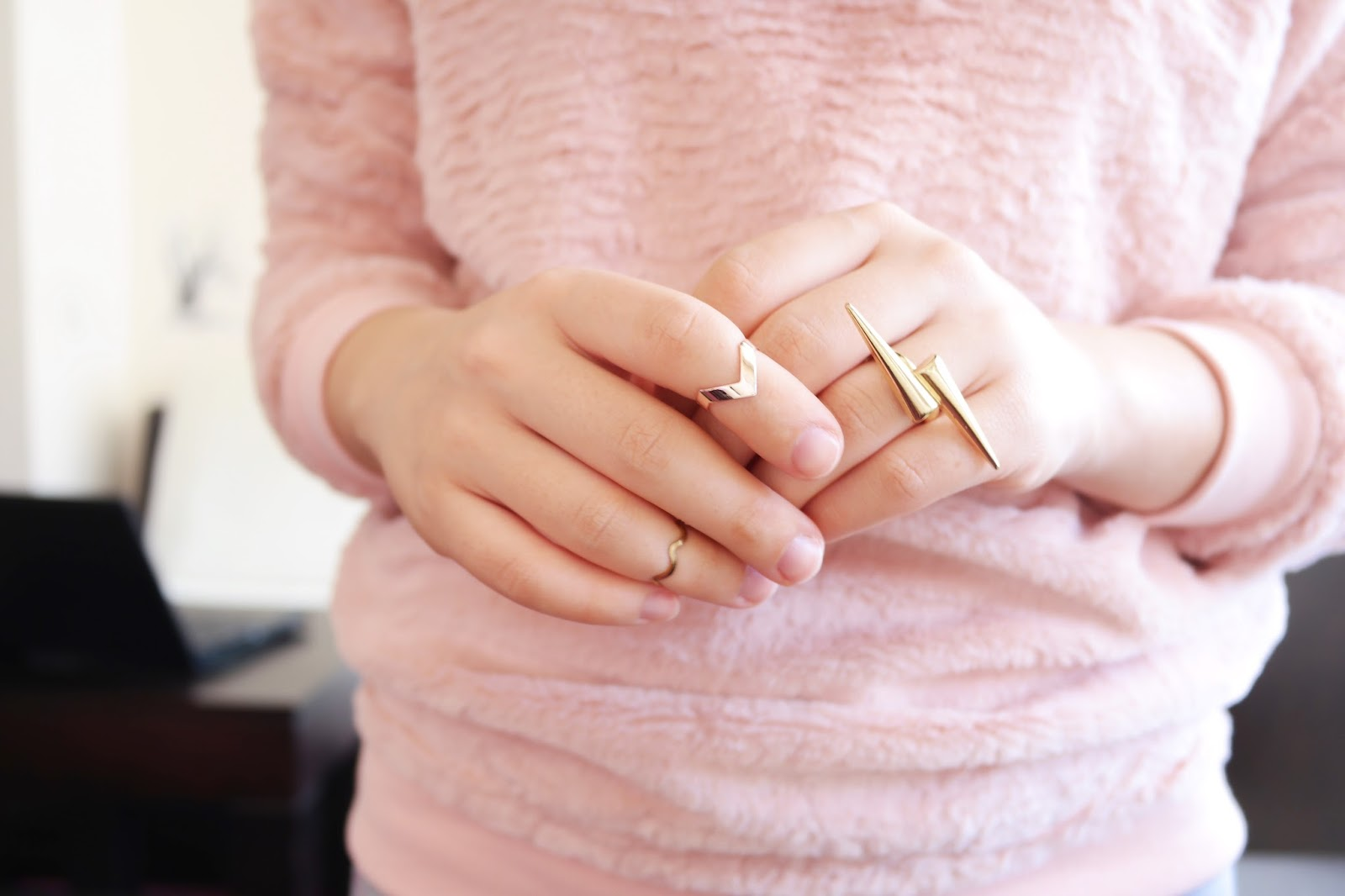 dainty rings jewellery gold knuckle rings
