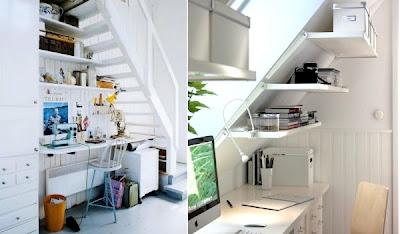 muebles debajo la escalera