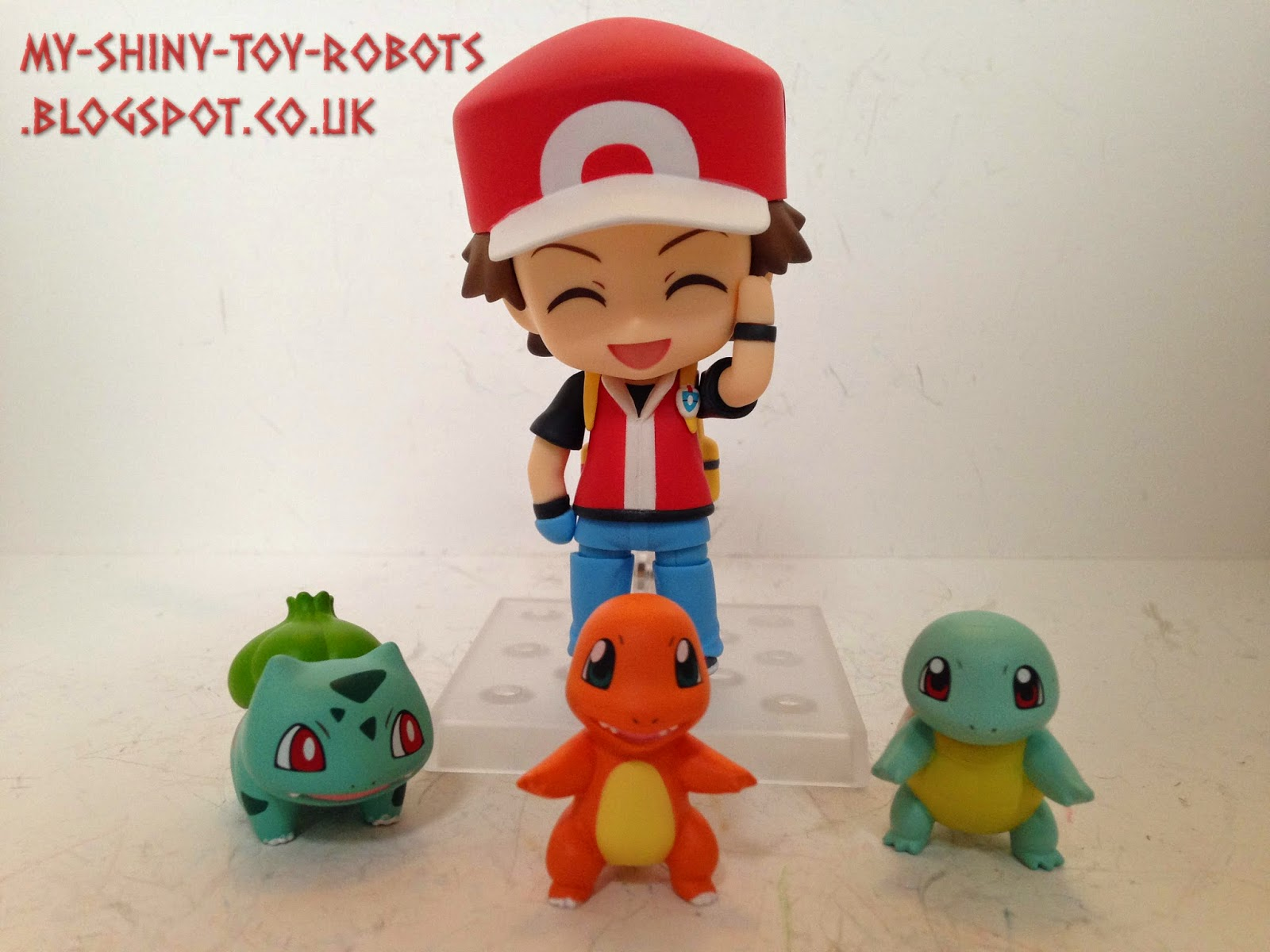 The included Kanto starters