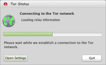 Tor Connect to Its Network