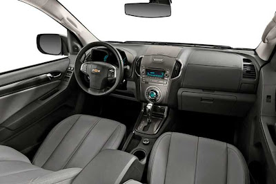A nova  Chevrolet S10 2012  protótipo Colorado