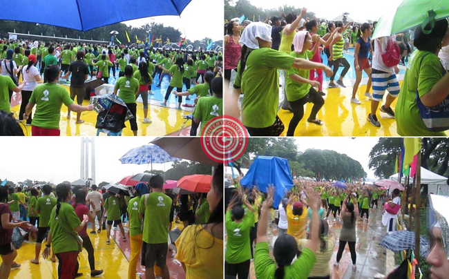 Philippines Attempt to Grab the Guinness World Record of Largest Zumba Dance Pictures