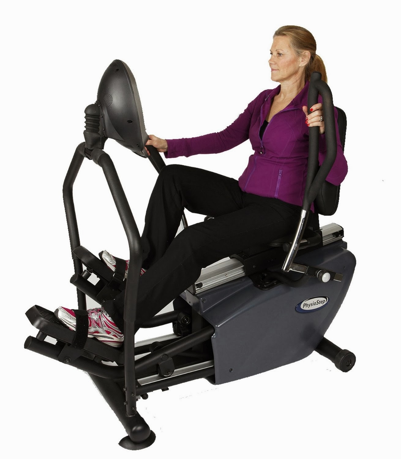 Elliptical Sit Down Bike: Exercise Bike Zone: HCI Fitness PhysioStep RXT-1000
